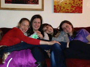 Girls Day Cuddle Pile!